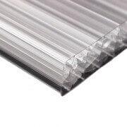 Pergola toit polycarbonate opaque adossée sur mesure