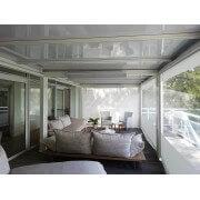 Pergola toit plat thermotop blanc