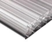 Plaque polycarbonate translucide carport alu