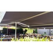 Store double pente solaire pour restaurant