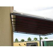 Store toiture pergola métal acier
