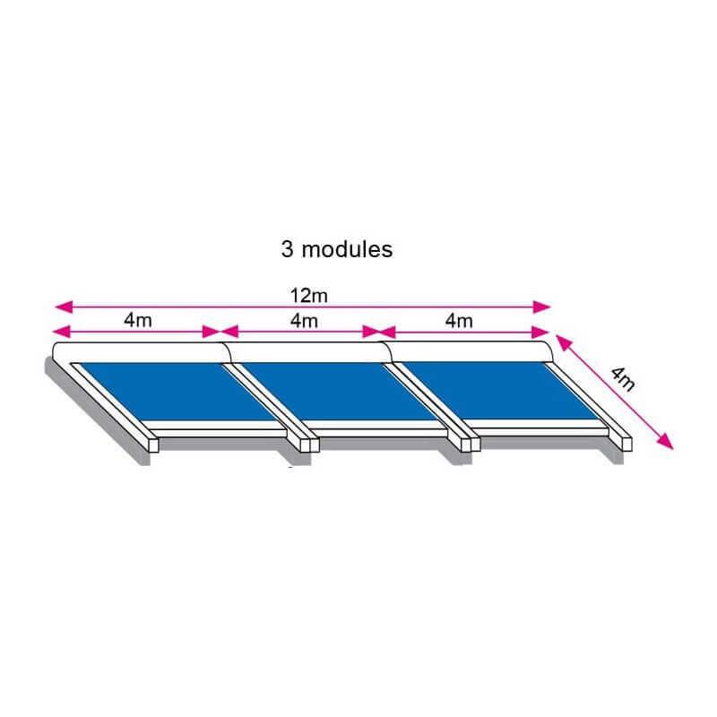Store toiture pergola 12x4