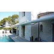 Stores bannes led 4x2 terrasse piscine