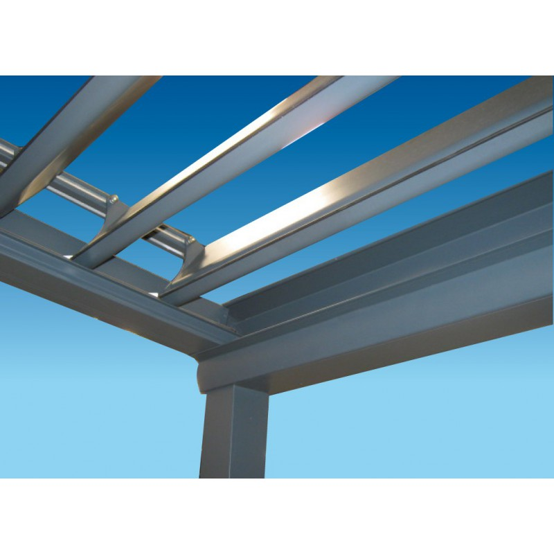 Pergola bioclimatique pas cher en kit l 4 x a direct for Pergola alu pas cher