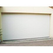 Porte de garage enroulable 3x2 blanche