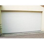 Porte de garage enroulable SOMFY blanche 3x2