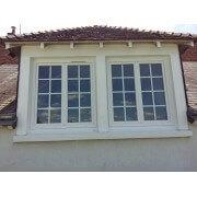 Fenêtre pvc 2 vantaux avec croisillons