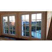 Fenêtre pvc 2 vantaux dormant rénovation avec aile de recouvrement de 40 mm