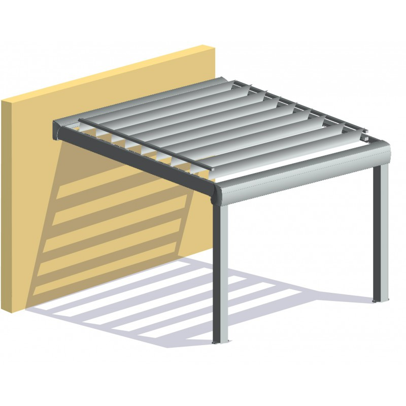 pergola bioclimatique pas cher en kit l 4 x a direct. Black Bedroom Furniture Sets. Home Design Ideas