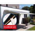 Store Banne Sur Mesure Lumière LED Coffre Intégral 131