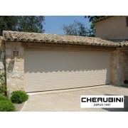Porte de garage enroulable 4x2 beige