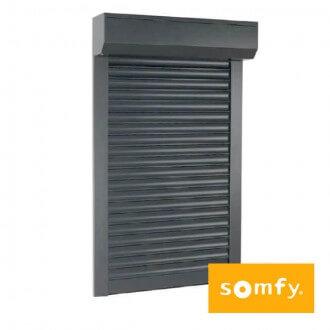 Volet Roulant Aluminium SOMFY Coffre Extérieur Sur Mesure