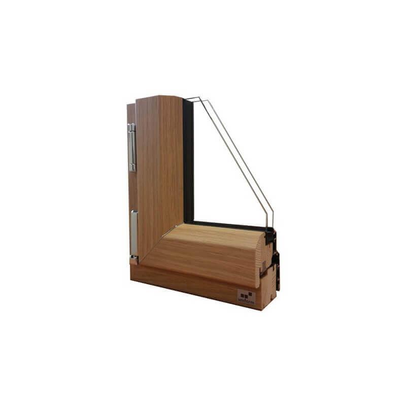 N 1 vente en ligne fenetres mixte 1 ouvrant sur mesure for Fenetre bois alu prix