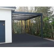 Carport toit plat 6x5