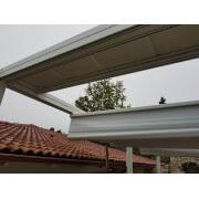 Auvent aluminium pour protection de toile pergola rétractable