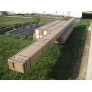 colisage pergola aluminium toit polycarbonate 6x3