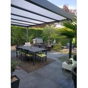 Pergola aluminium toit plat 5.2x4