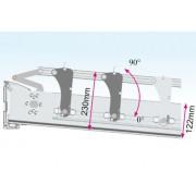 Pergola Bioclimatique Gris 7016 L 4000mm x A 4090mm