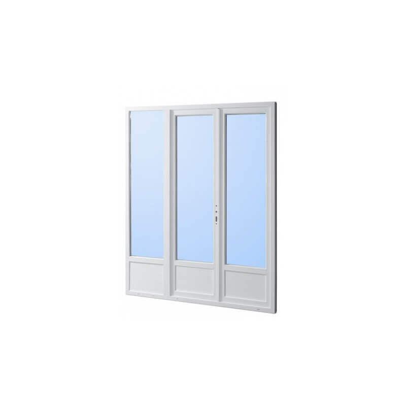 N 1 vente en ligne porte fenetre pvc 3 vantauxd sur mesure for Porte fenetre pvc sur mesure