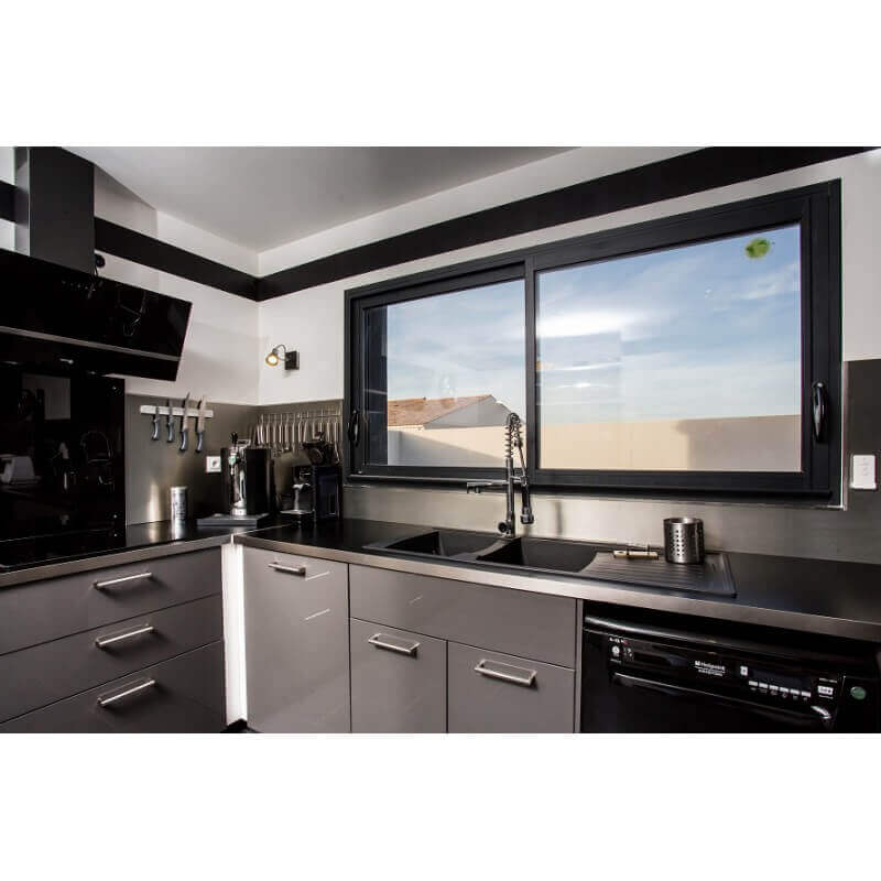 devis en ligne baie coulissante 2 vantaux sur mesure prix direct usine. Black Bedroom Furniture Sets. Home Design Ideas