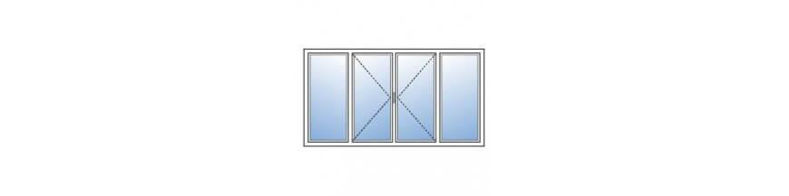 Fenetre pvc 4 vantaux devis en ligne fen tre pvc 4 for Fenetre sur mesure pas cher