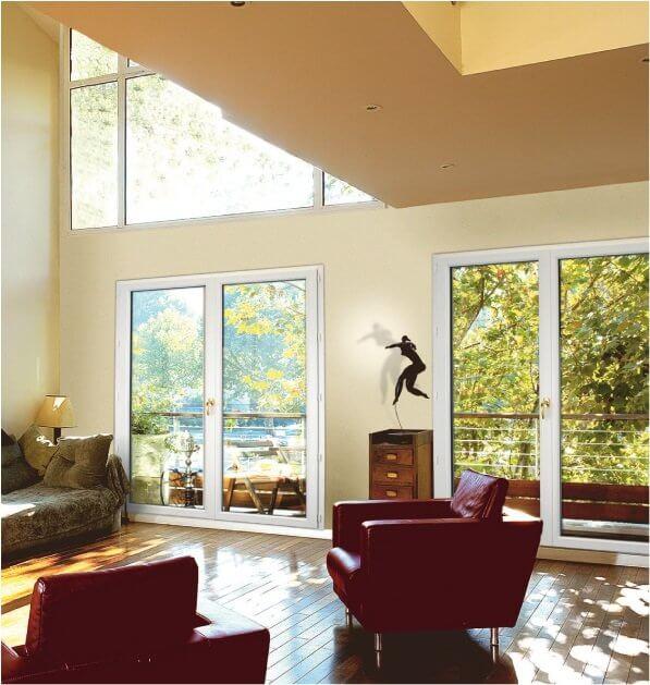devis porte fenetre pvc 2 vantaux pas cher porte fenetre. Black Bedroom Furniture Sets. Home Design Ideas