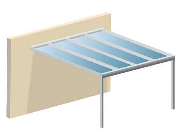 Pergola toit polycarbonate pas cher prix pergola polycarbonate en kit - Polycarbonate 16mm prix ...
