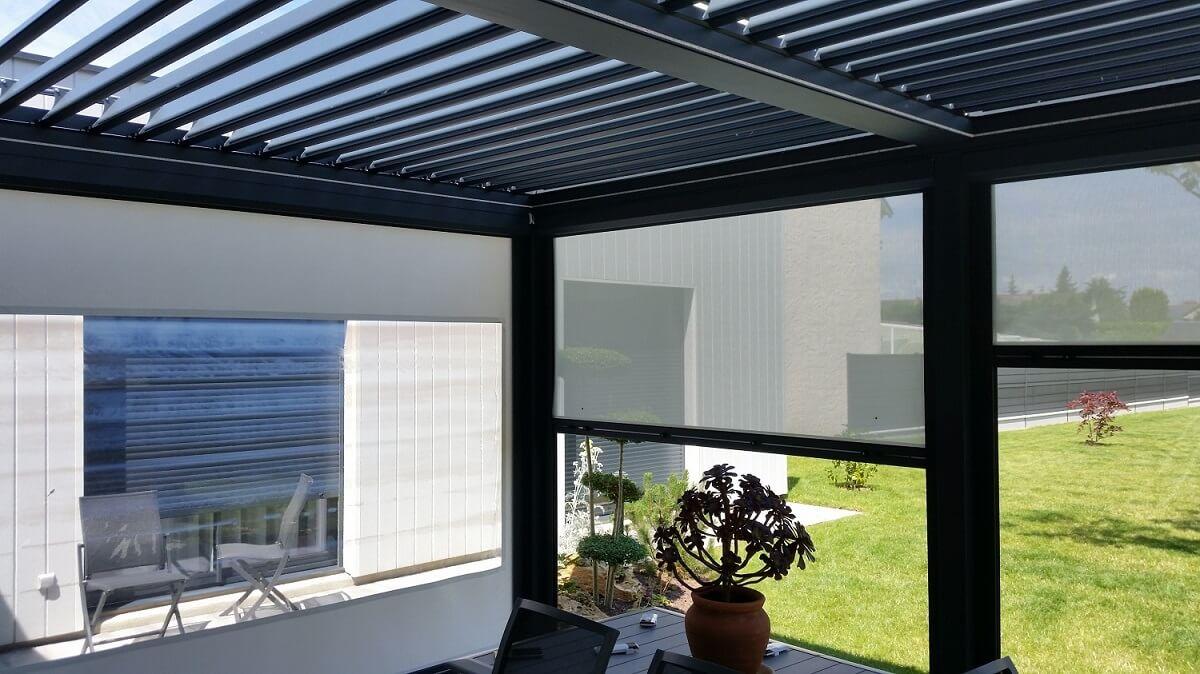 pergola toit polycarbonate pas cher prix pergola polycarbonate en kit. Black Bedroom Furniture Sets. Home Design Ideas
