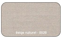 Coloris Toile Beige Naturel 002B
