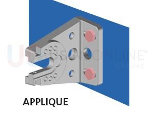 Façade (Pose en Applique contre le Mur)