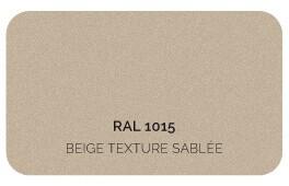 Beige 1015 Finition Structuré Sablé (Cossu, Robuste et Résistant aux Micro Rayures)
