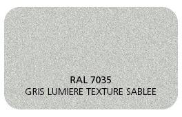 Gris Lumière 7035 Finition Structuré Sablé (Cossu, Robuste et Résistant aux Micro Rayures)