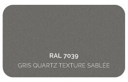 Gris Quartz 7039 Finition Structuré Sablé