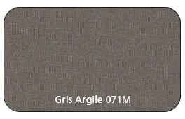 Coloris Toile Gris Argile 071M