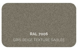 Gris Beige 7006 Finition Structuré Sablé