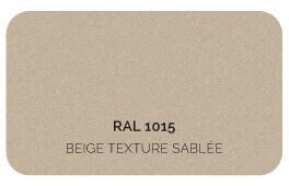 Ivoire Clair 1015 Finition Structuré Sablé