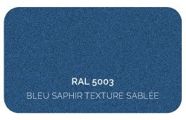 Bleu Saphir 5003 Finition Structuré Sablé