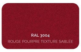 Rouge 3004 Finition Structuré Sablé